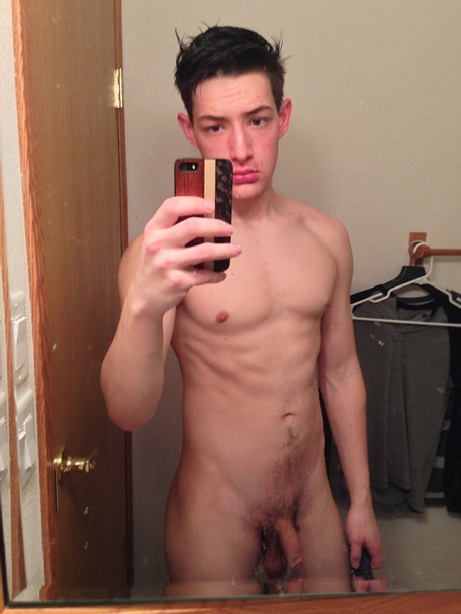 Young looking naked boys cock dick gay 10