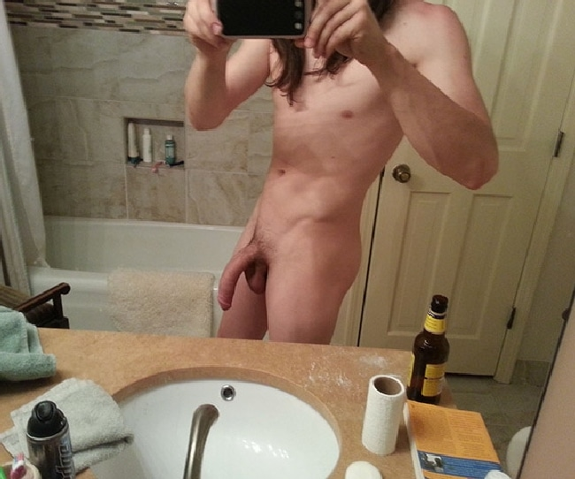 Cock Hanging Down