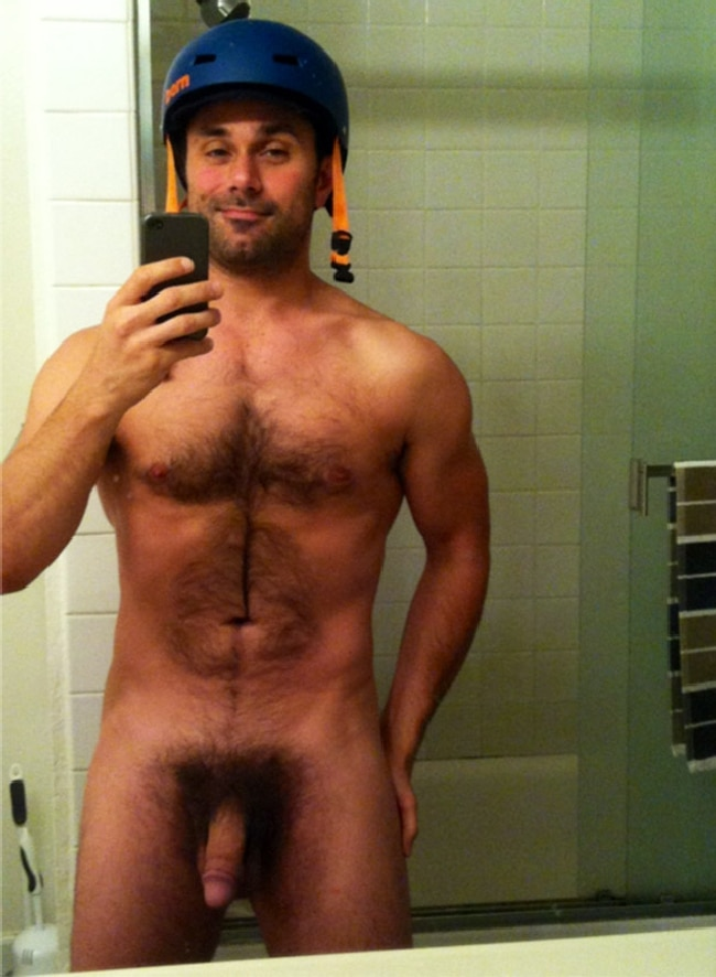 Black naked hairy men