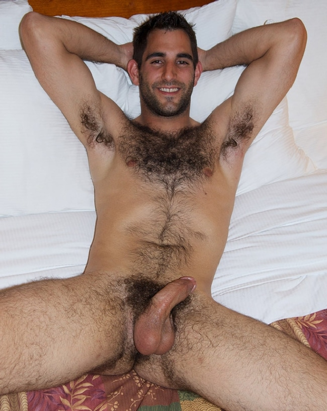 Nude Man Hairy Chest