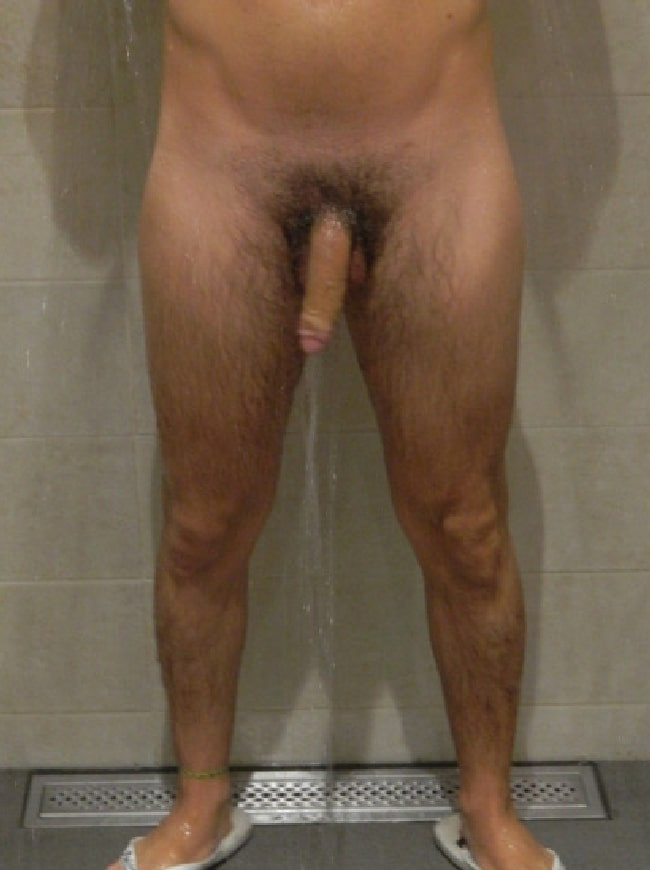 Cock In Shower
